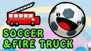 My Toy Fire Truck - Cars Rhymes|Soccer Song for Learning English - Kids Animation