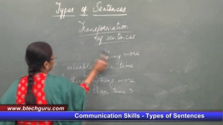 Free Live Session on Communication Skills - Types of Sentences