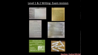 Edexcel Writing Revision - Functional Skills English