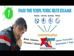 HOW TO PASS THE TOEFL, IELTS, CAMBRIDGE & TOEIC EXAMS SPEAKING READING AND LISTENING PART 1