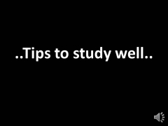 CAT/TOEFL/XAT..Tips to study well without any effort