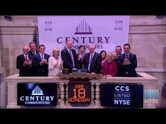 Century Communities, Inc. Celebrates IPO on the New York Stock Exchange