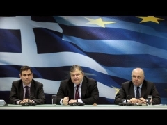 Greek Finance Minister hails 'historic' debt deal