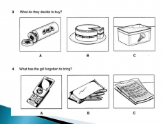 English B1. listening test 1.4  & answer key