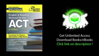 English and Reading Workout for the ACT, 3rd Edition College Test Preparation PDF