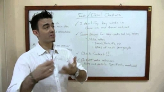 TOEFL iBT Reading Section Fact and Detail Questions - Video Lesson | www.i-Courses.org