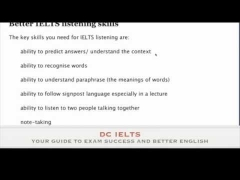 The listening skills you need for IELTS