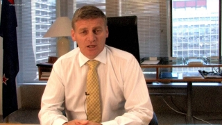 Finance Minister Bill English on the economy