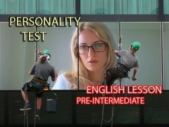 English Vocabulary+Speaking. Pre-Intermediate. Personality test.