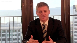 Finance Minister Bill English on Budget 2013
