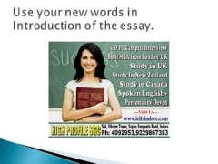 English Exam: IELTS/TOEFL: How to write essays ?How to get 7+ in ielts Writing test?