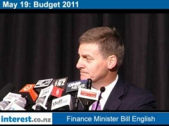 Finance Minister Bill English answers Budget 2011 questions