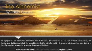 The Alchemist By Paulo Coelho - Audiobook [original]