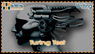 TOEFL | Integrated Writing Task |  Turing Test