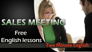 Sales English - Sales English Conversations - Business English Lesson