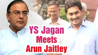 YS Jagan meets Union Finance Minister Arun Jaitley on Polavaram Issue | CVR English