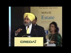 SUKHBIR SINGH BADAL SHOWCASES PRIME REAL ESTATE PROPERTIES TO INTERNATIONAL DEVELOPERS