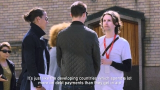 Street Fundraising Stunt - Hidden Camera [English subtitles]