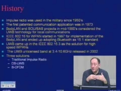 ECE538: Lecture 11: Ultra Wideband technology: Part 1 of 2: Introduction to UWB (2005)