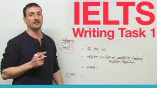 IELTS Writing Task 1 - What to write!
