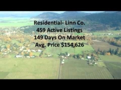 Bird's eye view of Lebanon and Brownsville, Oregon + Real Estate Info!!!