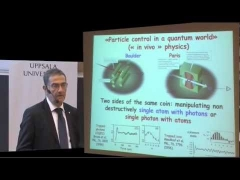 Nobel Laureate in Physics - Professor Serge Haroche - Nobel Lectures at Uppsala University