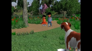 Pre-primary  - Short story on Domestic Animals - A day in the farm 3D animation