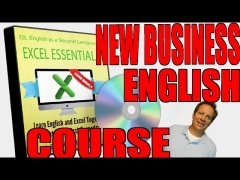 New Business English Course for Learning EXCEL!