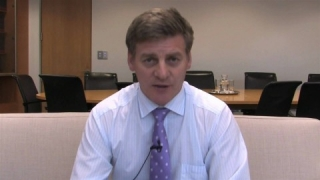 Briefing on the economy - Finance Minister Bill English