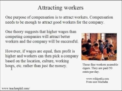 Business and Finance Lesson 22: Compensation (Learn English)