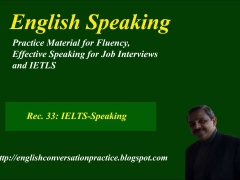 IELTS speaking model, English speaking practice, model speaking test