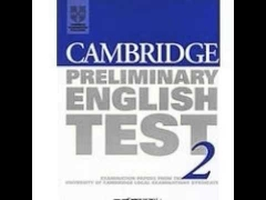 Cambridge Preliminary English Test 2 Examination Papers from the University of C