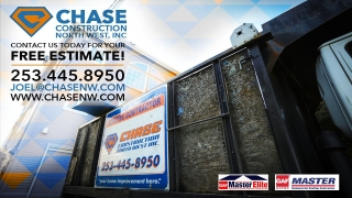 Chase Construction North West, INC Installs an IKO Roof in Seattle, WA