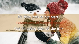 English Listening Practice (Level 1/6) || Video 1 - First Snow Fall ||