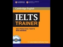 CAMBRIDGE ielts trainer listening test 4