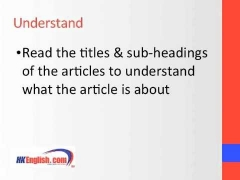 IELTS Reading Tips Lesson & Preparation Course in Hong Kong (HK)