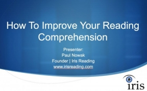 How To Improve Your Reading Comprehension