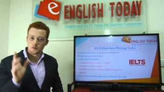 IELTS Overview: Writing - English Today Hanoi