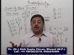 Probability , Tricks and Shortcuts in maths , Free Video lecture for IIT JEE , CAT CPT Bank PO