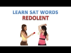 Learn what REDOLENT means | Memorize SAT Vocabulary Words | Memory Training for English Students