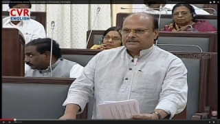 AP TDP Finance Minister Yanamala Clarifies Doubts over Budget in Assembly | CVR English News