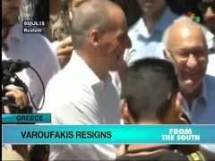 Greek Finance Minister Resigns to Smooth Negotiations