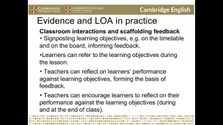 Key themes in Learning Oriented Assessment - Neil Jones and Miranda Hamilton
