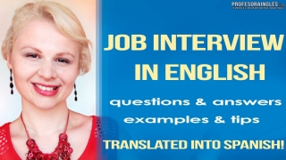 Job Interview Questions and Answers Examples and Tips Translated into Spanish