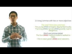 ACT English Prep Tips (Grammar) - 4 Major Comma Rules to Know