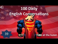 Daily English Conversations 39: I ate at the hotel.