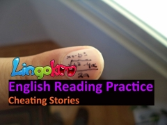 English Reading Skills: Stressed Words: Cheating Stories