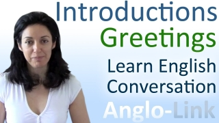 Introductions & Greetings - Learn English Conversation