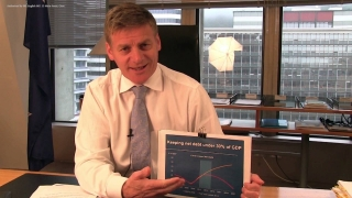 Finance Minister Bill English - Half-Year Update
