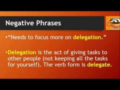 10 Business English Phrases for Negative Performance Evaluations